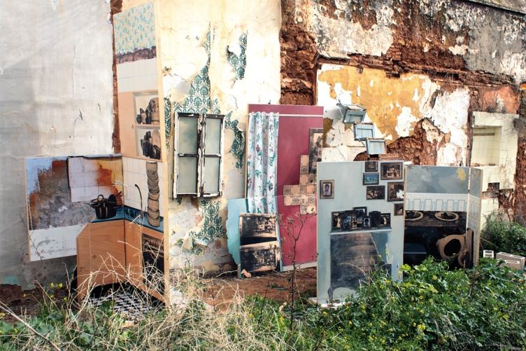 Propuesta escenográfica para vivienda deshabitada